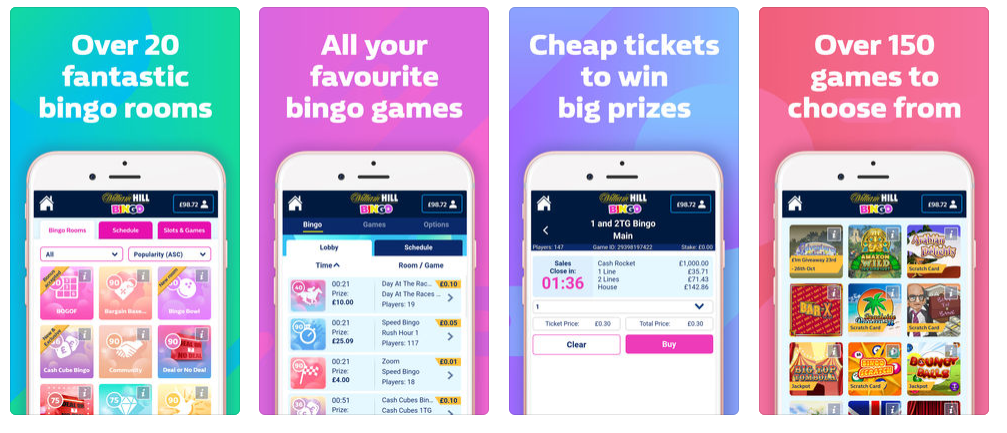 William Hill mobile application 2018