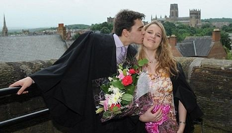 Here is a photo of Chris Brooker and his girlfriend