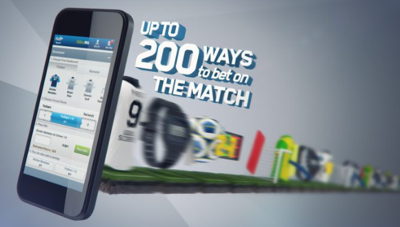 Betting on match with William Hill