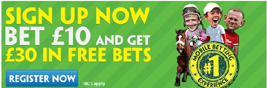Paddy Power bonus offer