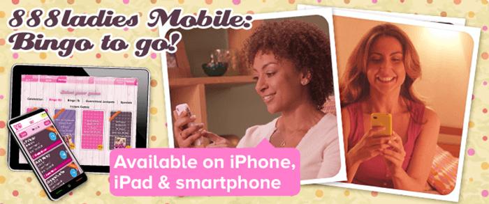 888 Ladies app