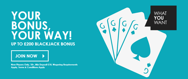 Gala Casino blackjack bonus