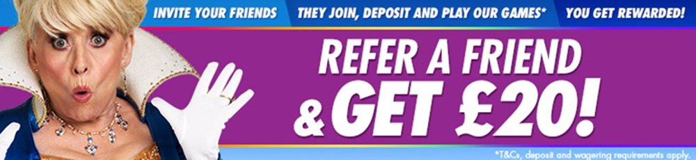 refer a friend Jackpotjoy