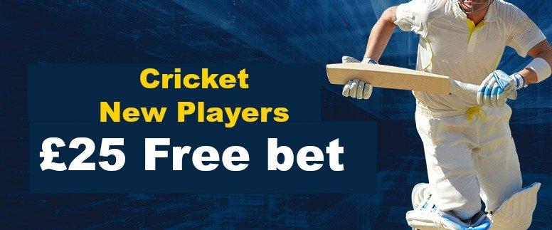 cricket bonus William Hill
