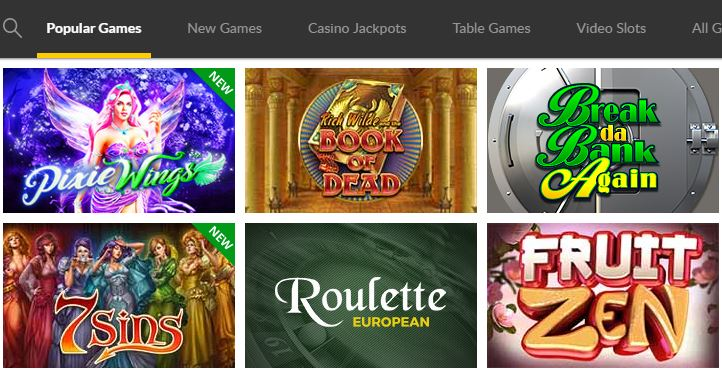 games Go Wild Casino