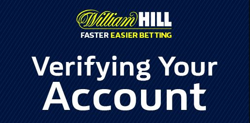 verify account William Hill