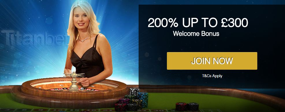 TitanBet Casino welcome offer
