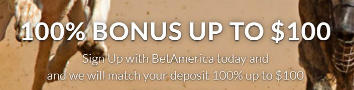 BetAmerica offer banner
