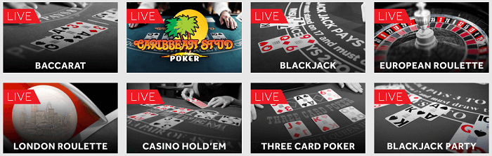 Live Casino Genting Casino