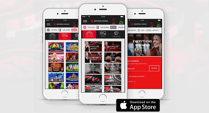 mobile app Genting Casino