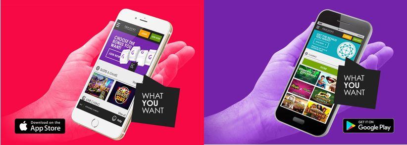 Gala Casino apps