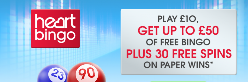 Free spins and free bingo tickets