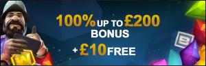 videoslots welcome bonus