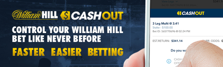 william hill cashout