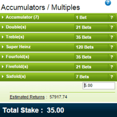 An Insider's Look at Placing an Accumulator Bet on William Hill