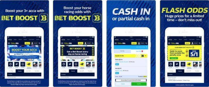 How to use the William Hill App