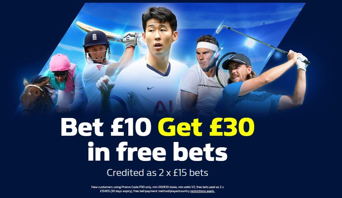 How to claim the William Hill Bonus