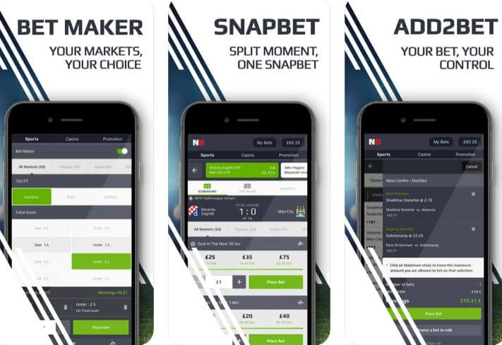 How to use the Netbet Mobile App