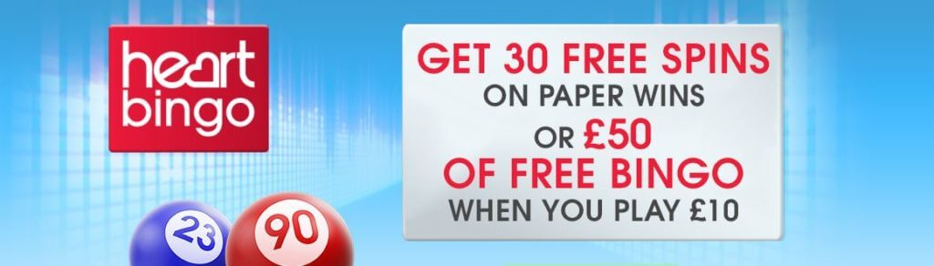 How to claim the Heart Bingo Promo Code & Welcome Offer