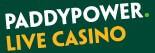 Paddy Power live casino logo